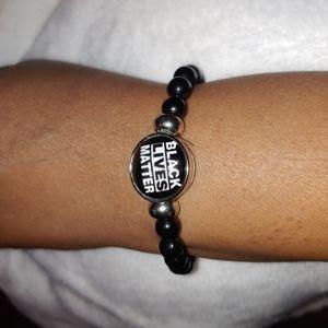 New Black Lives Matter beaded wristband